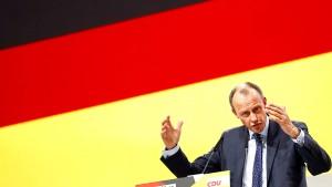 Merz fordert Umdenken in der deutschen Wirtschaftspolitik