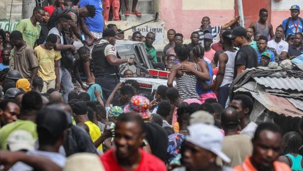 Wird Haiti zu Amerikas Somalia?