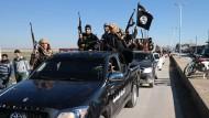 Im Visier türkischer und amerikanischer Streitkräfte: IS-Kämpfer in Syrien