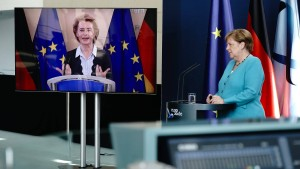 Merkel und von der Leyen setzen weiter auf Dialog mit China