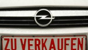 Streit über staatliche Hilfe für Opel