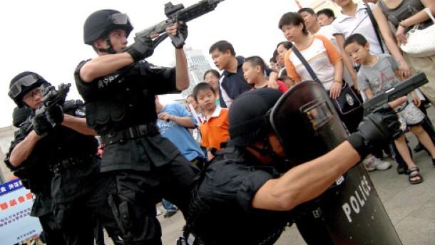 """China gesteht Tötung von """"Aufständischen"""""""