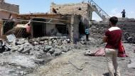 Die zerstörte irakische Stadt Mossul