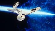 Das dauert noch: Raumschiffe wie die USS Enterprise (NCC-1701-A) wird selbst Amerika in absehbarer Zeit nicht bauen.