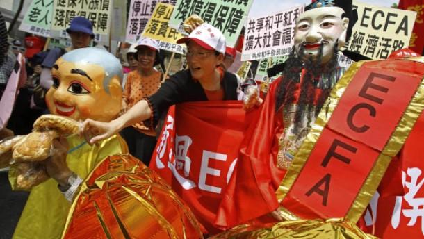Taiwan schließt Handelsabkommen mit China