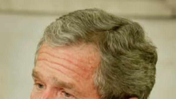 """Bush """"enttäuscht"""" von Veto gegen Nato-Planungen"""