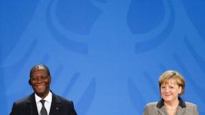 Ecowas-Präsident fordert deutsche Truppen
