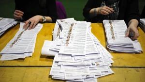 Ehemalige Bürgerkriegsparteien müssen wohl Koalition bilden