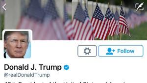 Trump twittert aus der Hüfte