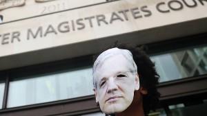 Erst 2020 wird über Assanges Auslieferung entschieden