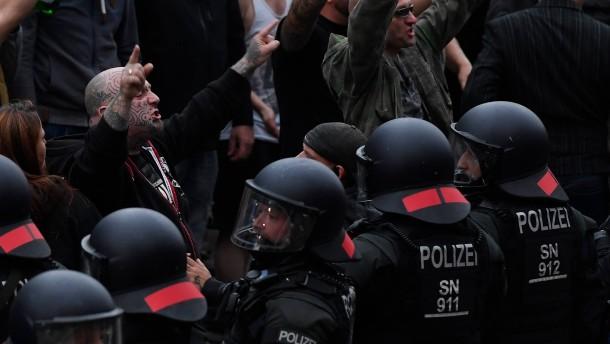 Bundespolizei und Sachsen dementieren schwere Panne bei Großeinsatz