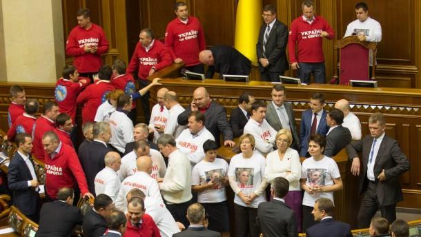 Machtkampf um die Ukraine