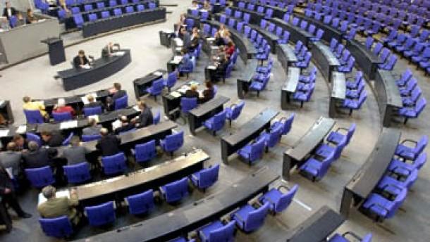 Opposition will keine gläsernen Abgeordneten