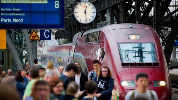 Sicherheitsschleusen für Thalys-Reisende