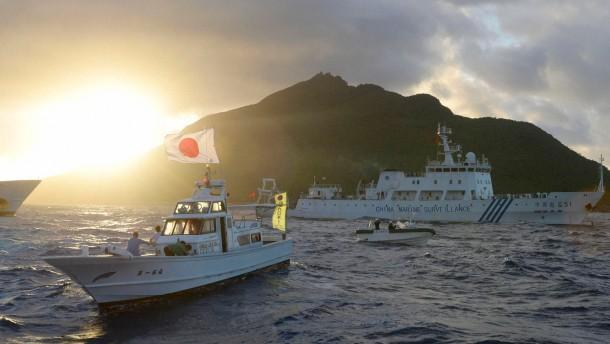 Warum China immer heftiger um Inseln streitet