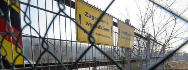 In vielen Grenzgemeinden zu Polen nimmt die Kriminalität zu.