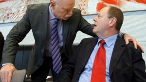 Führende SPD-Politiker gegen Hilfe der Linken