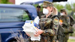Bundeswehr hilft bei Corona-Ausbruch in Gütersloh