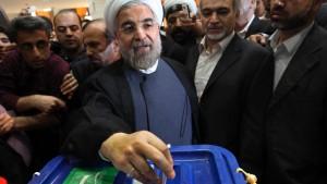Sieg für Reformer Rouhani