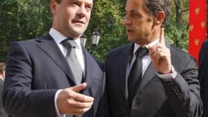 Medwedjew verspricht Rückzug aus Georgien