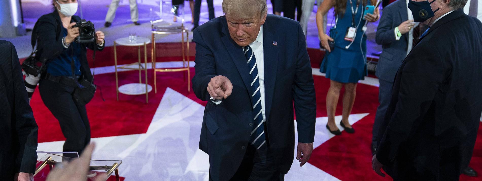 Trumps Show und Bidens Fragestunde