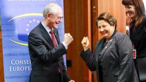 Proeuropäer in Lettland offenbar klar vorn