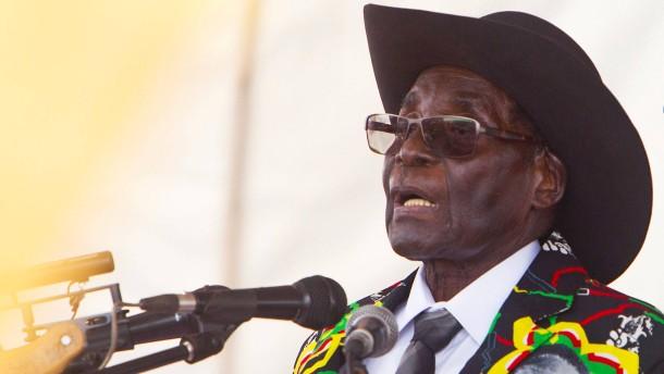 Mugabe feiert pompöse Geburtstagsparty