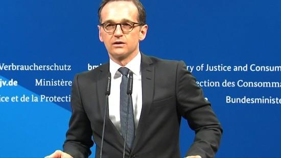 Maas: 50 Millionen Euro Bußgeld für Hasskommentare