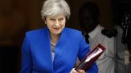 Holt die das Beste für Großbritannienbeim Brexit  raus? Unter Theresa Mays Landsleuten glaubt daran laut der jüngsten Umfrage nur noch rund ein Drittel.