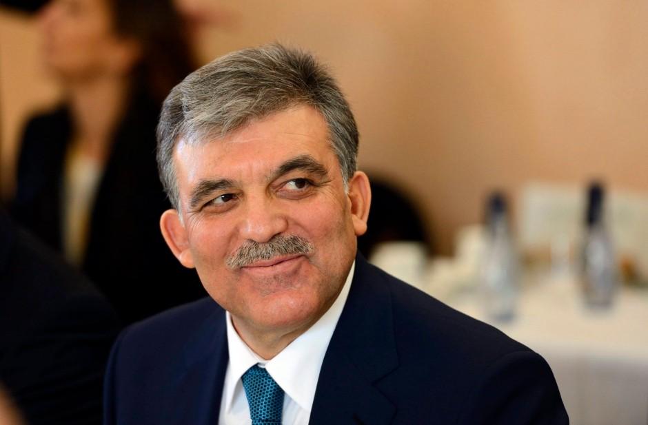 Fast volles Vertrauen: der türkische Staatspräsident Abdullah Gül