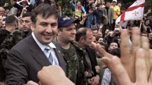"""Saakaschwili in Batumi: """"Adscharien ist frei"""""""