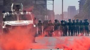 Straßenschlachten in Venezuela