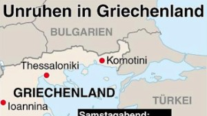 Lage in Griechenland beruhigt sich