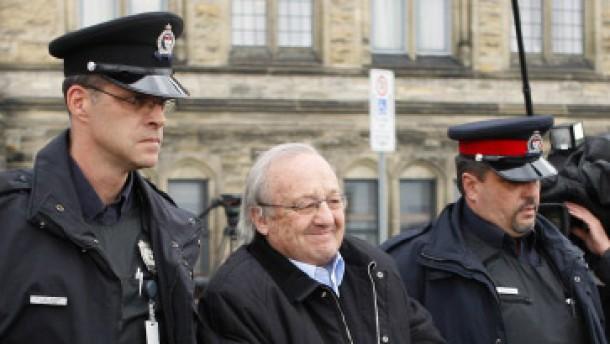 Kanadische Richter stoppen Schreibers Auslieferung