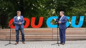 CDU und CSU demonstrieren Geschlossenheit