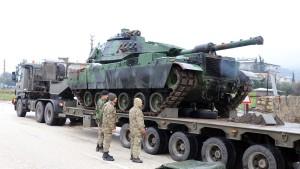 Türkei startet Kampfeinsatz gegen Kurden-Miliz