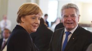 Gauck verteidigt Deutschland gegen Kritiker