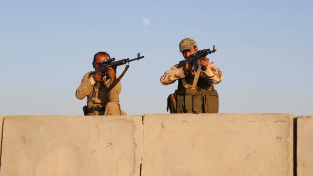 Frankreich bewaffnet die Kurden im Irak