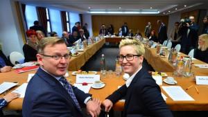 Verhandlungen über Linksbündnis gestartet