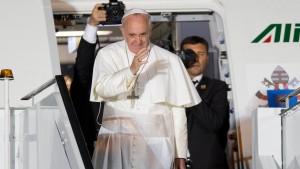 Lob für Papst Franziskus