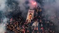 Jubel für den Neuen: Unterstützer von Imamoglu feiern am Mittwoch seinen Amtsantritt als Bürgermeister von Istanbul.