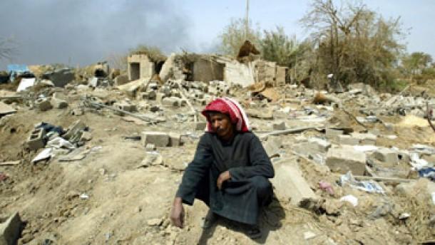 Im Irak droht eine humanitäre Katastrophe