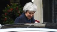 Sie geht, aber erst später. Theresa May hat ihren Rückzug bis 2022 angekündigt.