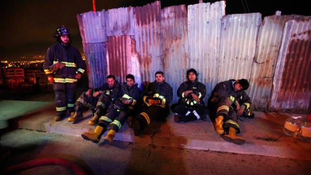 Zwei Geier sollen das Feuer in Valparaíso ausgelöst haben
