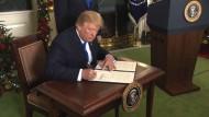 Trump begeht beispiellosen Tabubruch