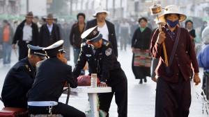 Hunderte Festnahmen in Tibet