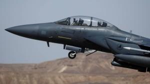 Israels Luftwaffe greift Ziele in Syrien an