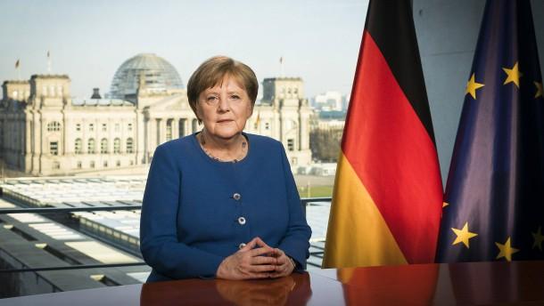 """Merkel: """"Es ist ernst. Nehmen Sie es auch ernst"""""""