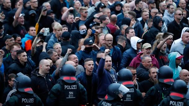 Maaßen verweist auf Polizeibehörden