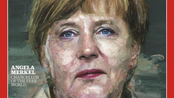 """Merkel """"Person des Jahres"""" 2015"""
